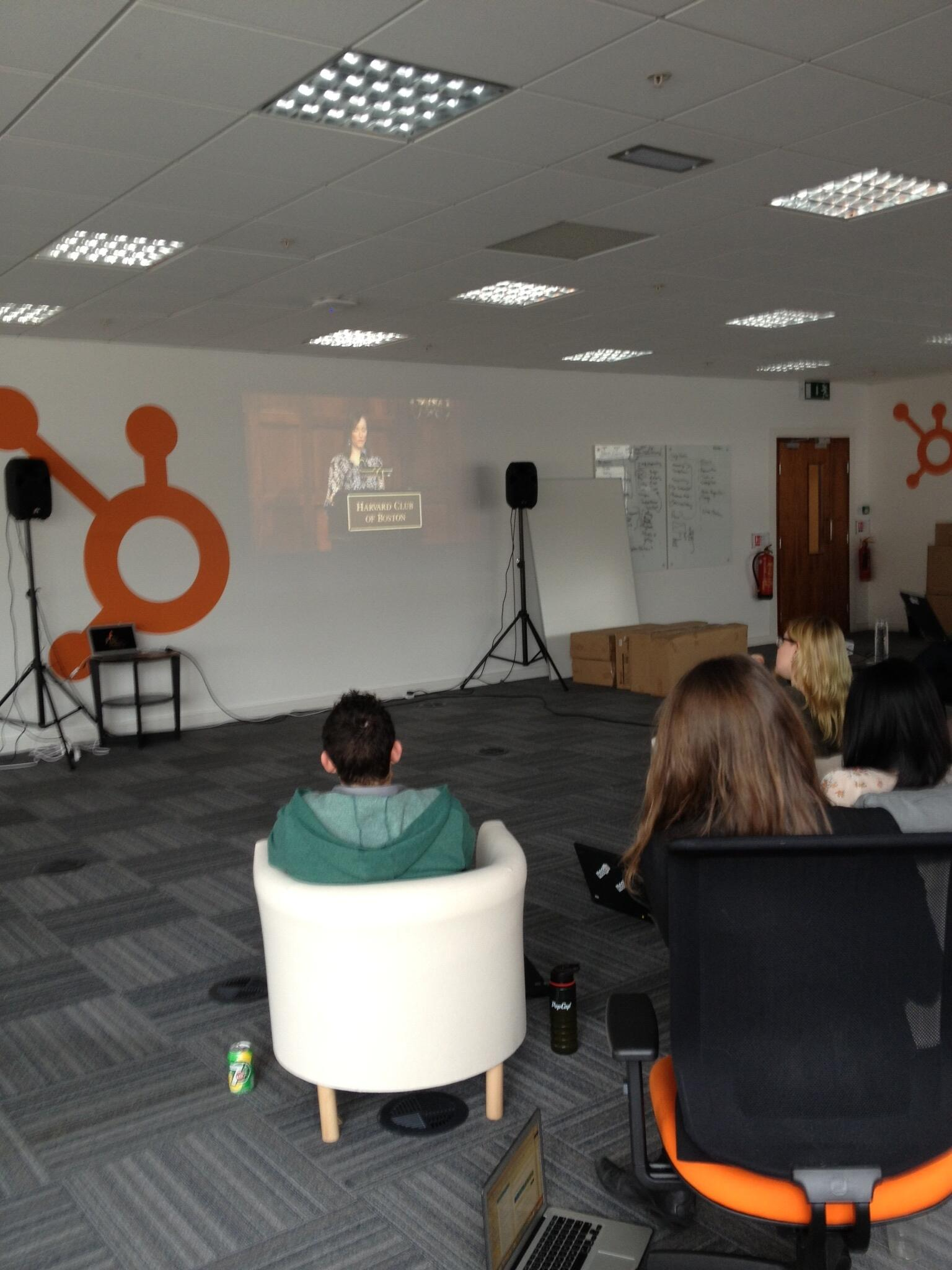 Twitter / Pistachio: Dublin office of @HubSpot ...