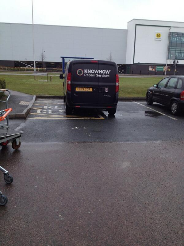 FE13 COA displaying Inconsiderate Parking