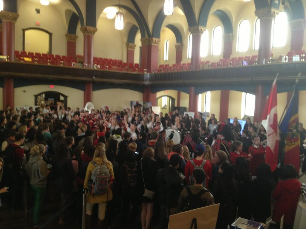 Twitter / ThankQ2013: @QueensBands1905 @queensu ...