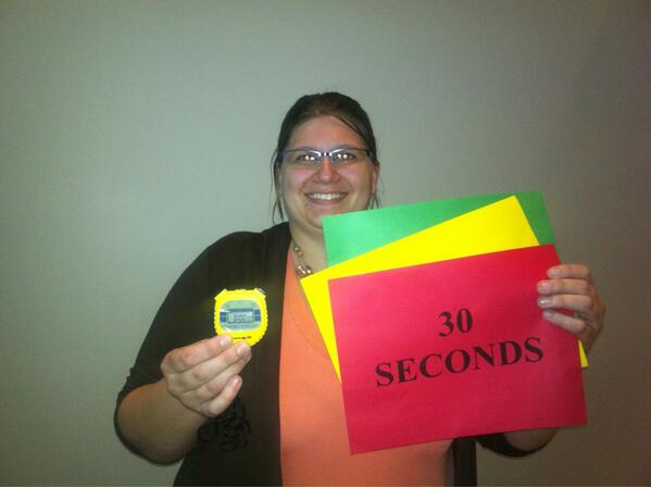 Time! PhDer Monica VanKlampenberg helps keep presentations to schedule at #UCDavisIGPS. pic.twitter.com/mVSv3dLq41