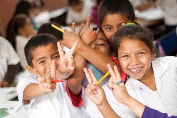 #Honduras 89.2% coverage in primary education for girls and boys #MDG2 #MDG3 #MDGmomentum pic.twitter.com/QUyIqBjvB2
