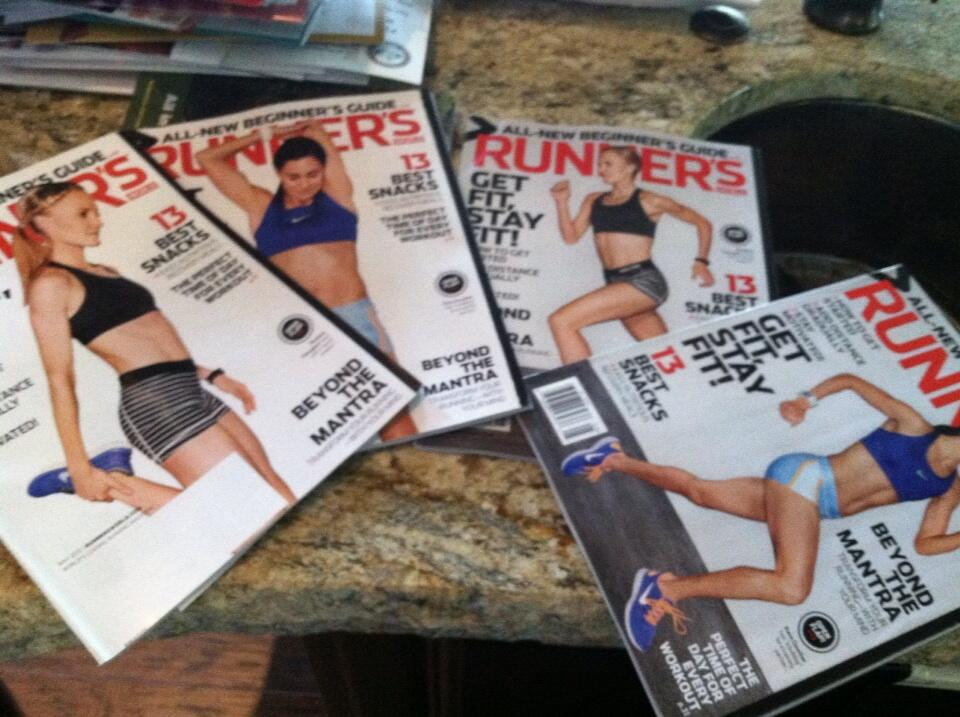 Twitter / karagoucher: Collect all four ;) #runfree ...
