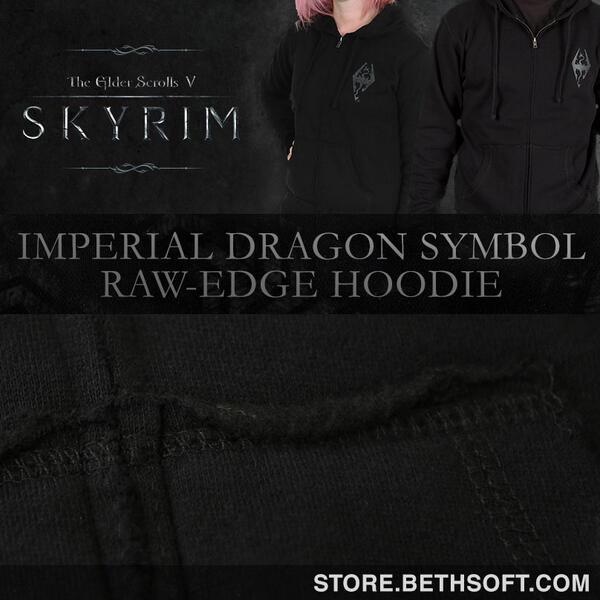 The Elder Scrolls On Twitter New Skyrim Hoodie Available Httpt