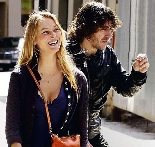 Twitter / NL_Barca: Puyol met zijn vriendin Vanessa ...