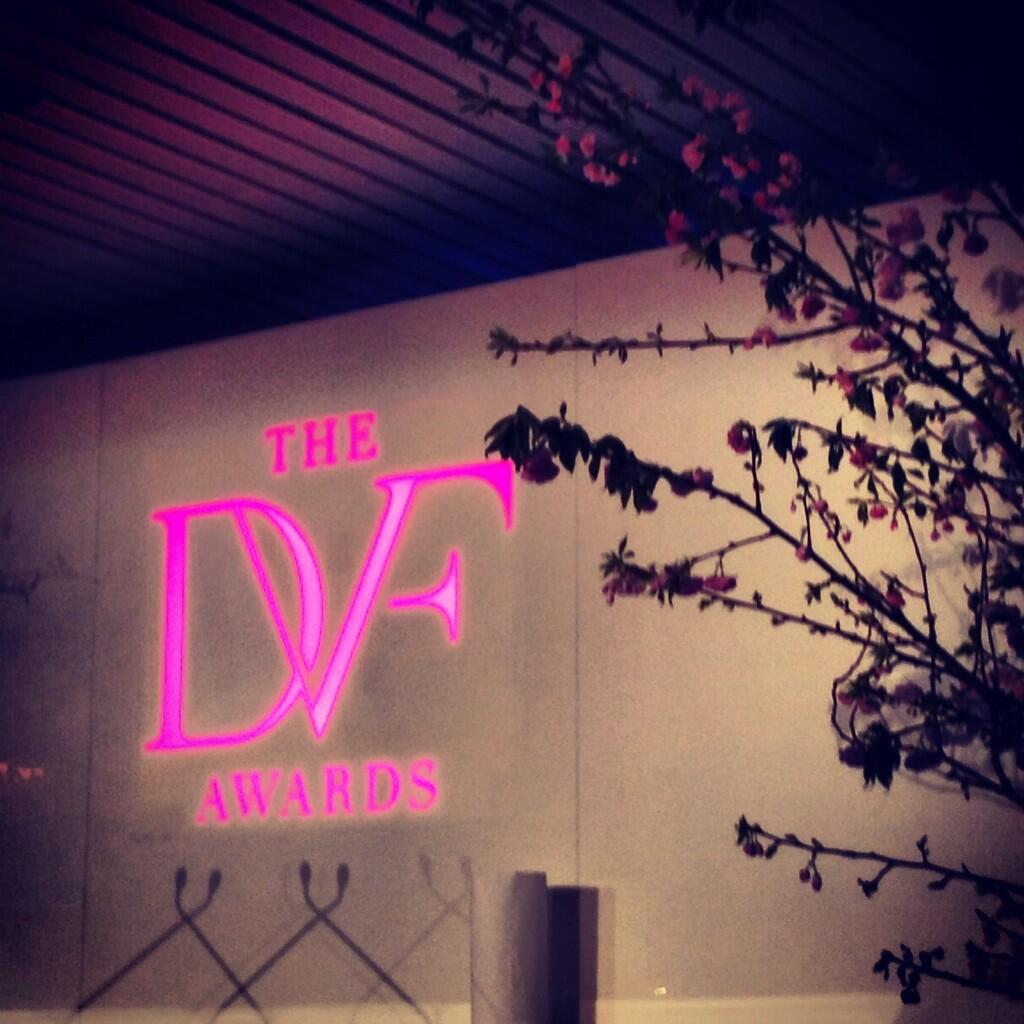 Twitter / VitalVoices: Almost time for the @DVF Awards, ...