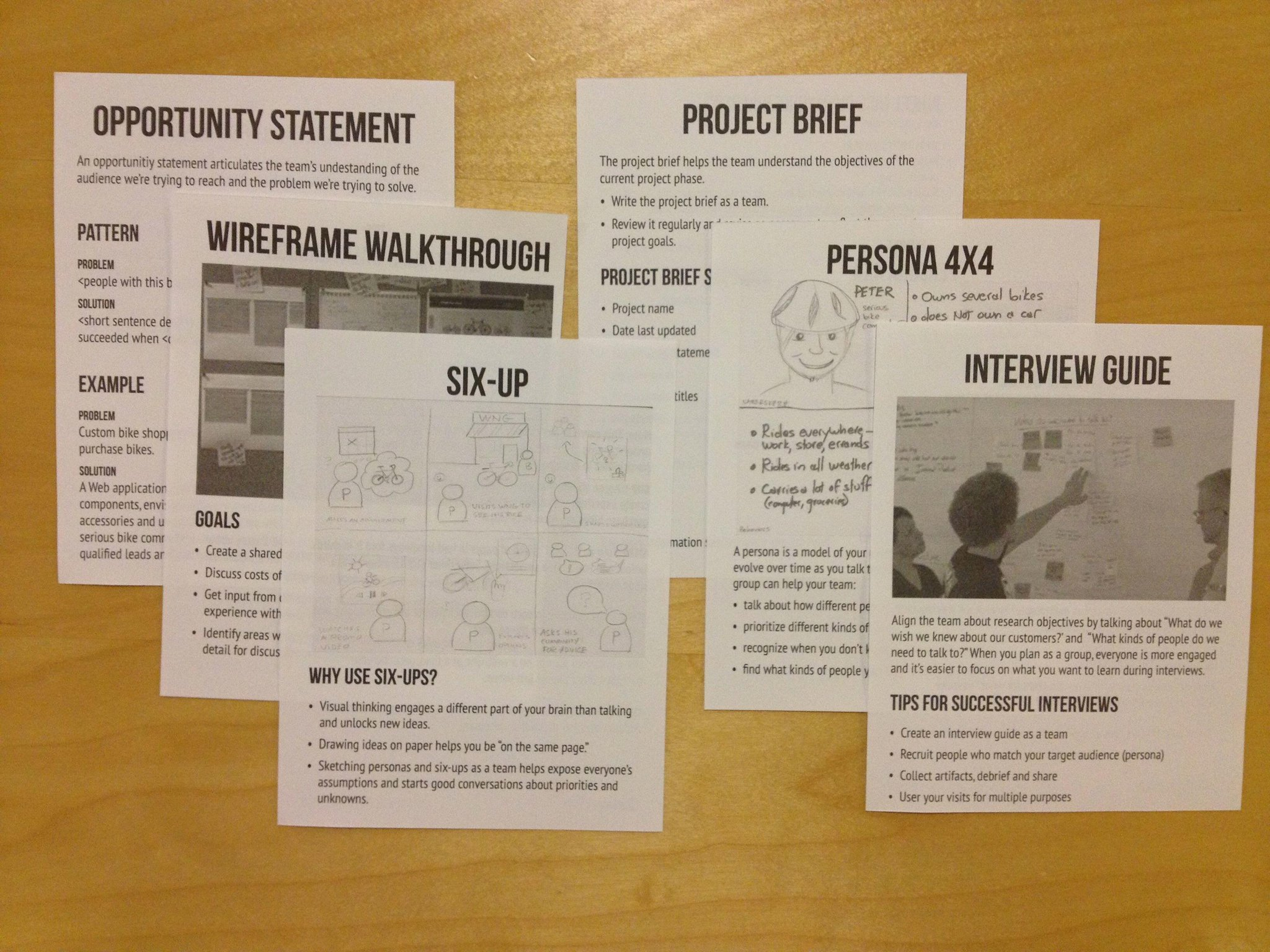 Twitter / thinknow: Recipe cards for our #leanuxnyc ...