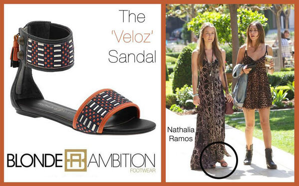 Looking #Chic & ready for Coachella, Actress Nathalia Ramos rocks the @BAmbitionShoes Veloz #Sandal Avail @piperlime http://t.co/lz2K5WE3Rj