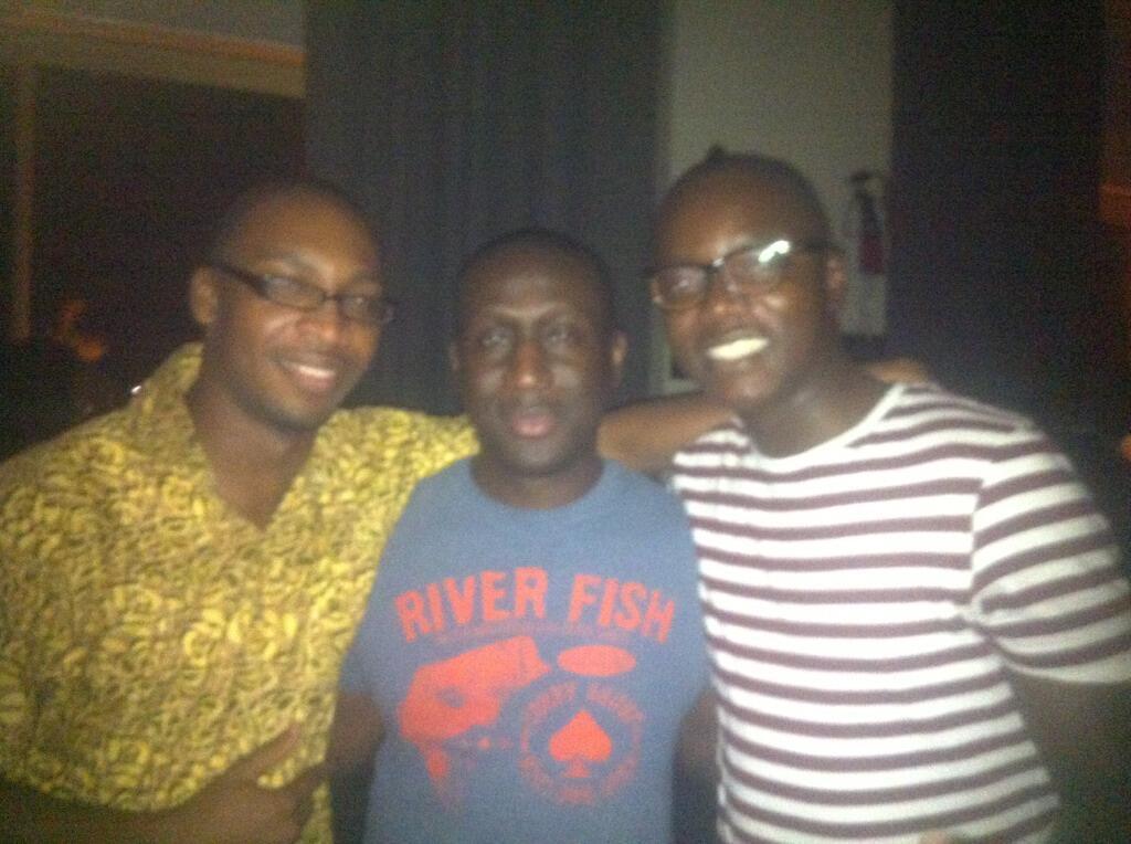 Twitter / MacJordaN: The trio @Abocco @nubiancheetah ...