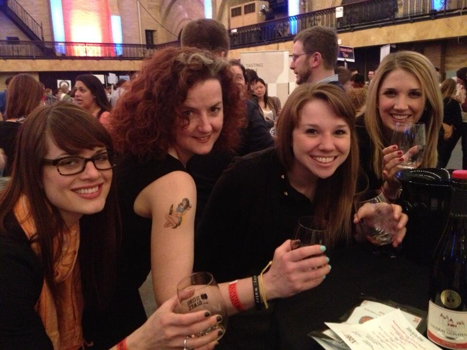 Twitter / savvybostonian: Theme of #wineriot is #leanin ...