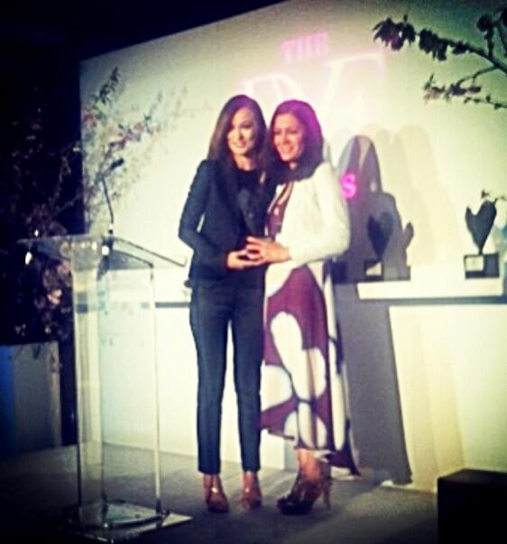 Twitter / VitalVoices: .@oliviawilde presents the ...