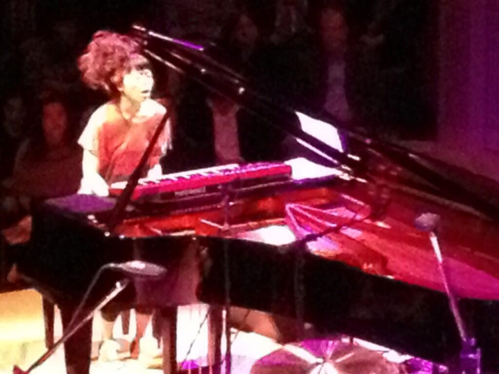 Twitter / jbirdcreations: Hiromi doesn't tickle the ...