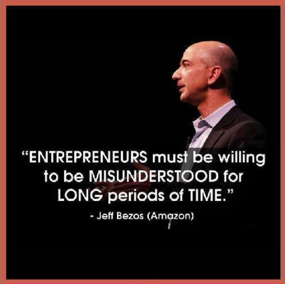 Twitter / JoyAndLife: Entrepreneurs must be willing ...
