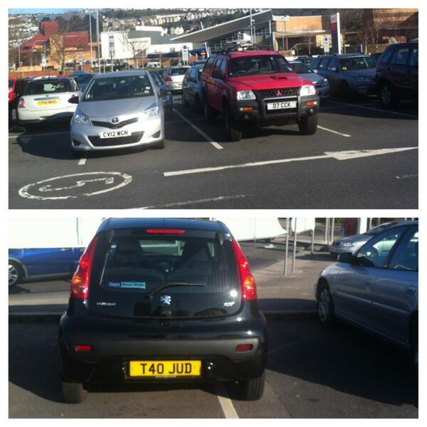 CV12 WGN & T40 JUD displaying crap parking