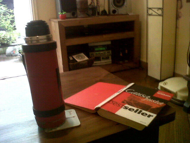 Twitter / mechibasso: Mate, libro y música! Sábado! ...