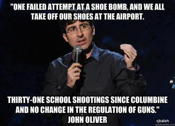 John Oliver on gun safety http://t.co/5gVOjF1tG4