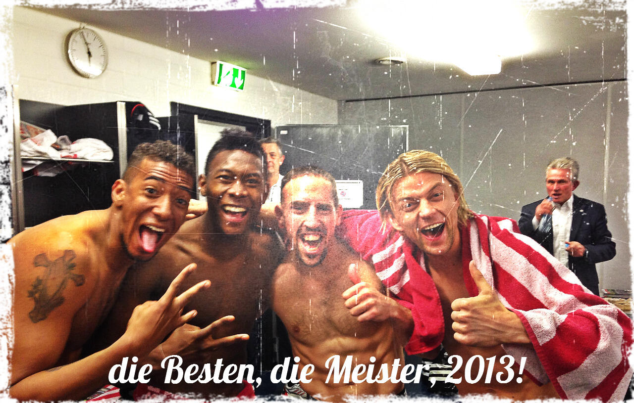 9 brilliant images from the day Bayern Munich won the 2012/13 Bundesliga title