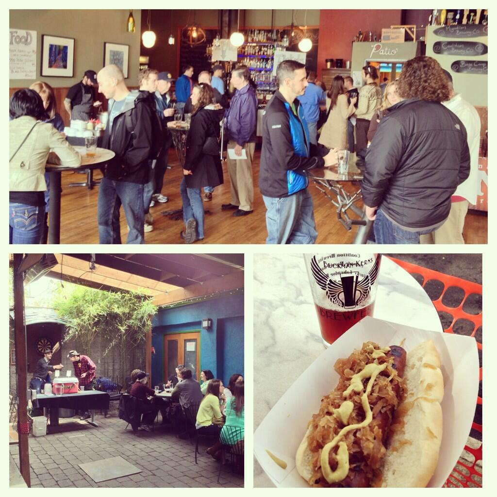 Twitter / PdxPipeline: Buckman-Kerns brewfest @EastBurn ...
