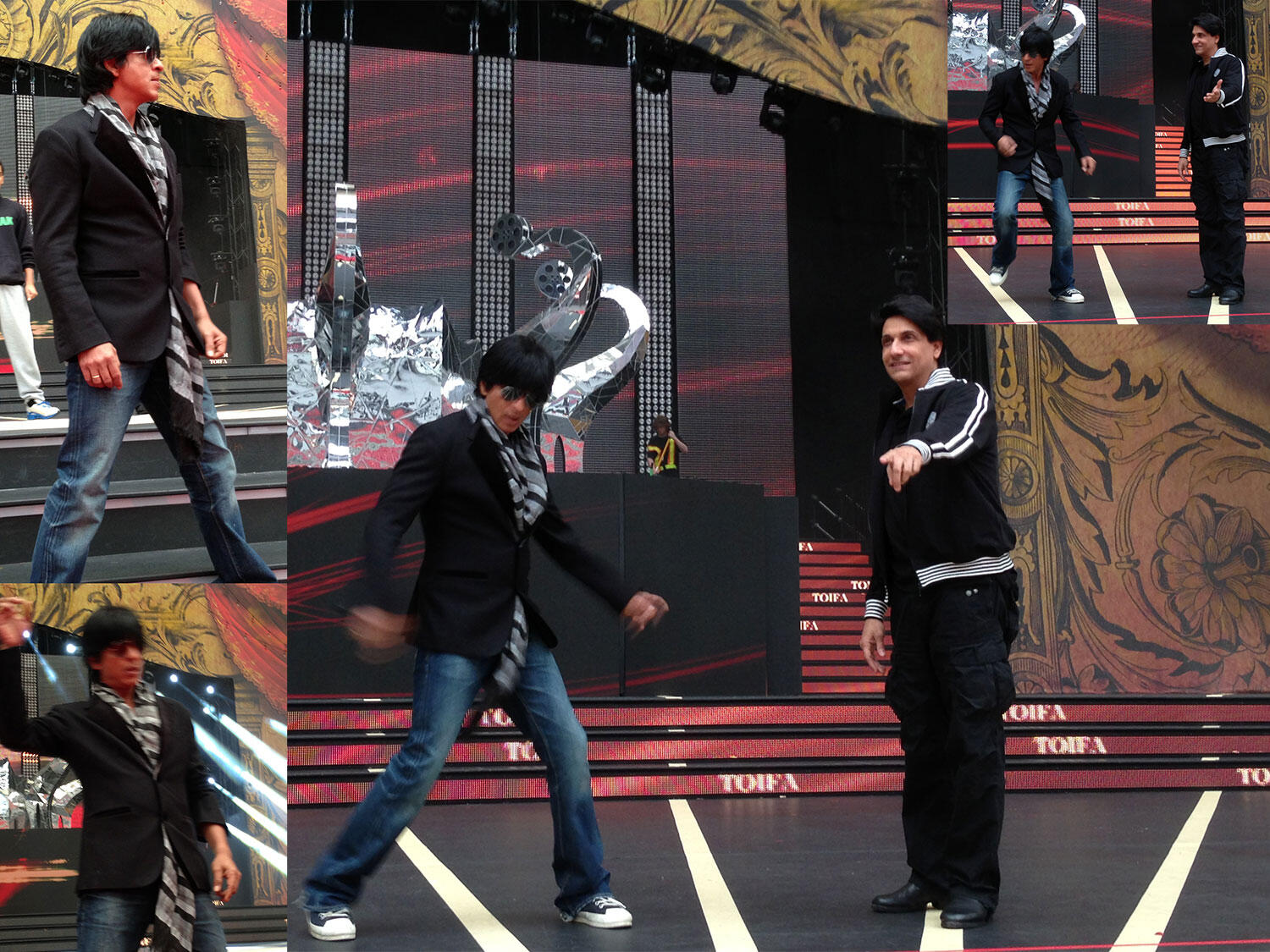 Twitter / iamsrkclub: SRK working hard for the fans ...