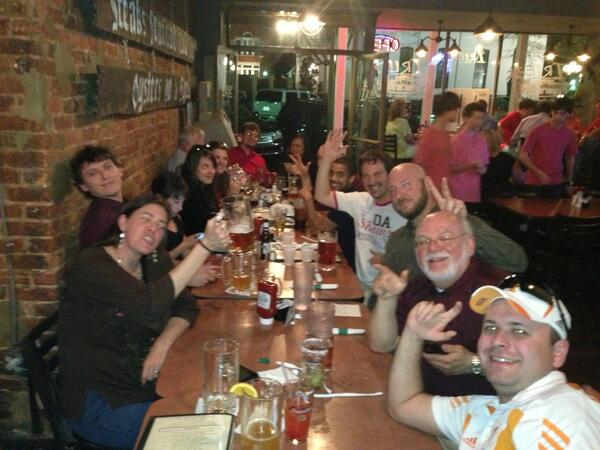What a great day with fantastic journalists from SPJ's Region 12! Cheers to all. #spjoxford pic.twitter.com/RFD3E0Wi5g