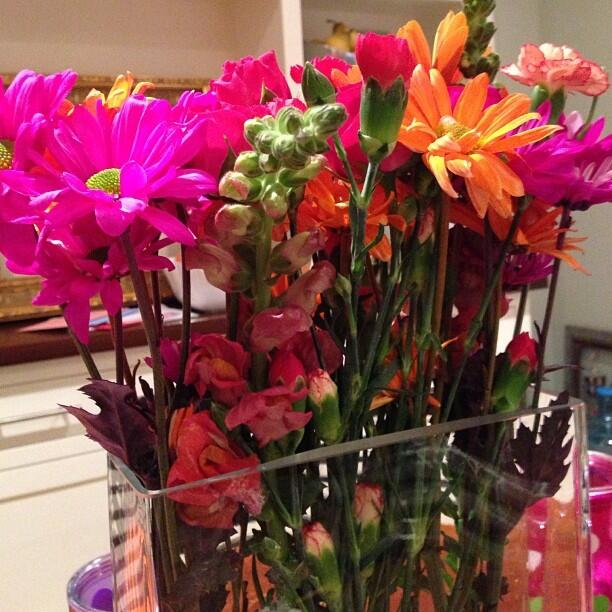 Twitter / ShellyKramer: Birthday flowers. ...