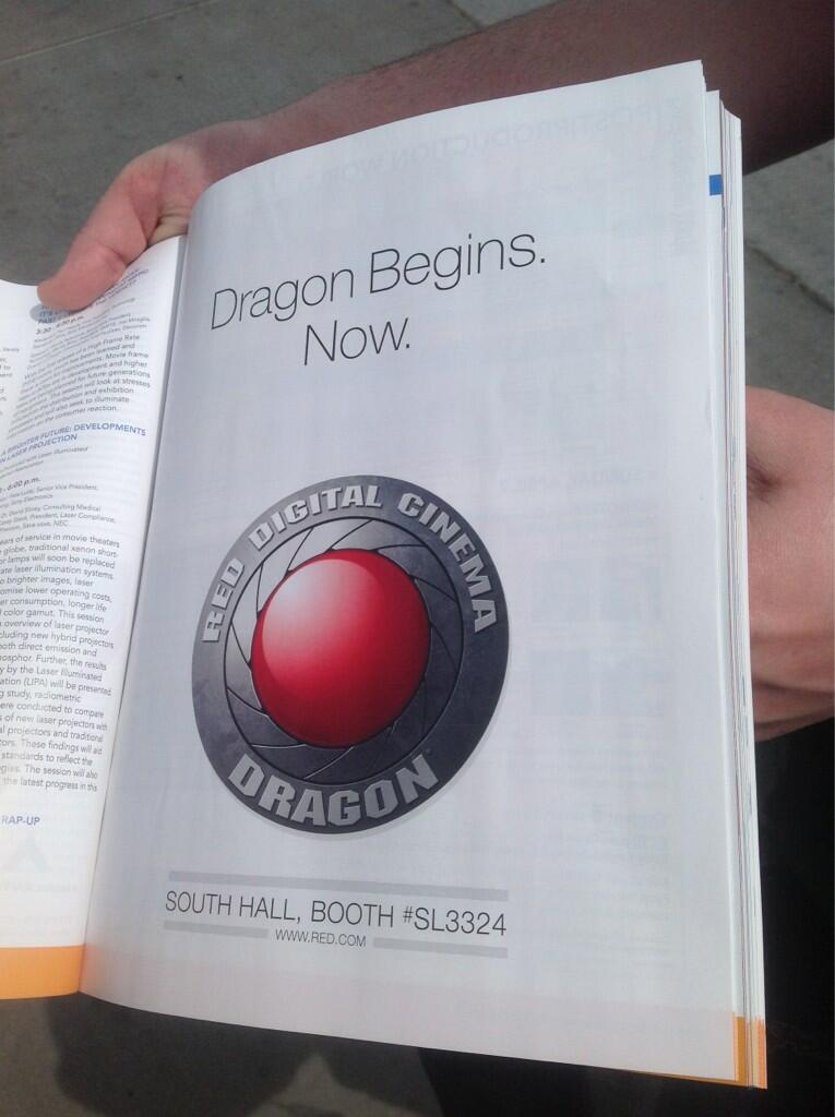 Twitter / dandumouchel: Dragon begins now. #r3d #Epic ...