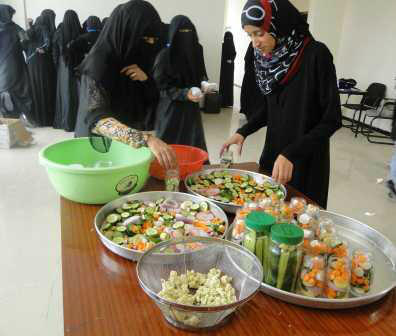 Twitter / UNDPYEMEN: Photo: Food processing Techniques ...