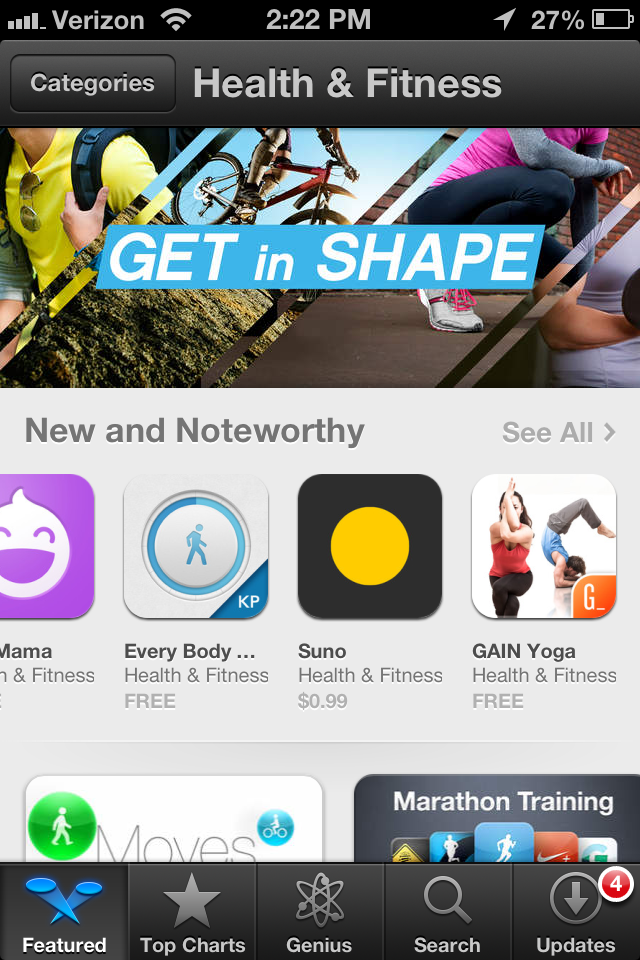 Twitter / GAINfitness: Our latest app, GAIN Yoga, ...