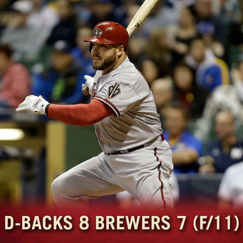 Twitter / Dbacks: FINAL (11): #Dbacks 8, Brewers ...