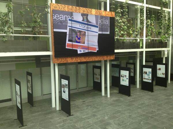 #LTDF2012 @AUTuni city campus up and running. pic.twitter.com/MFh6MuflP8