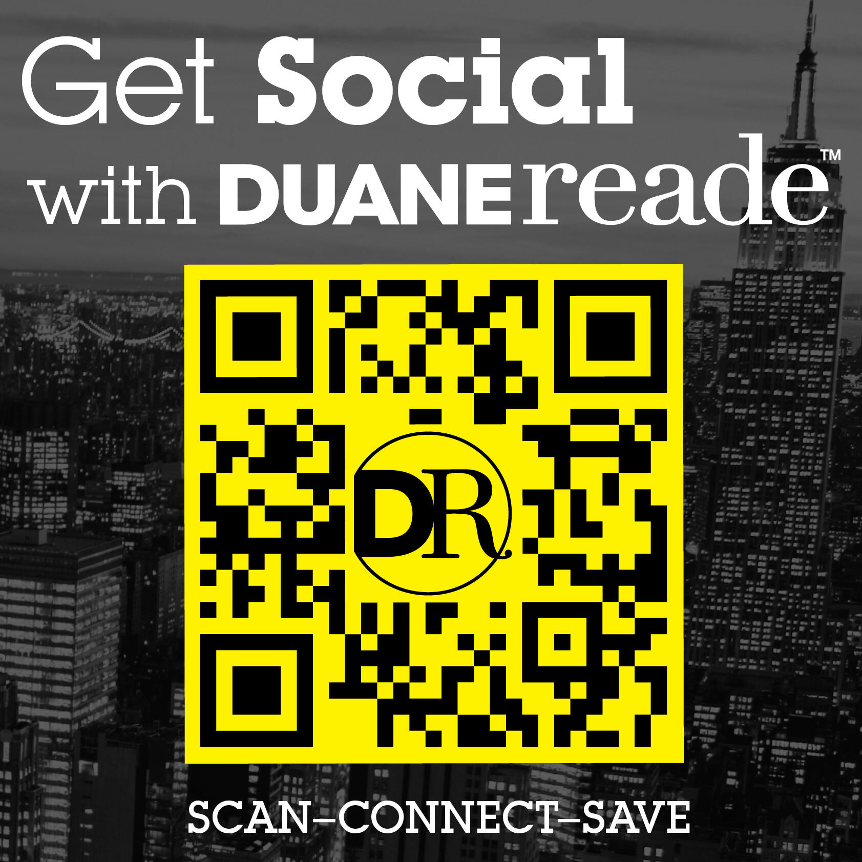 Twitter / DuaneReade: Don't forget to scan the QR ...