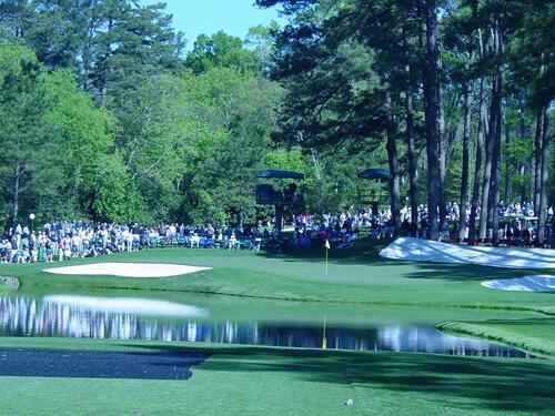 Twitter / Golfaid: Golfers will attempt to skip ...