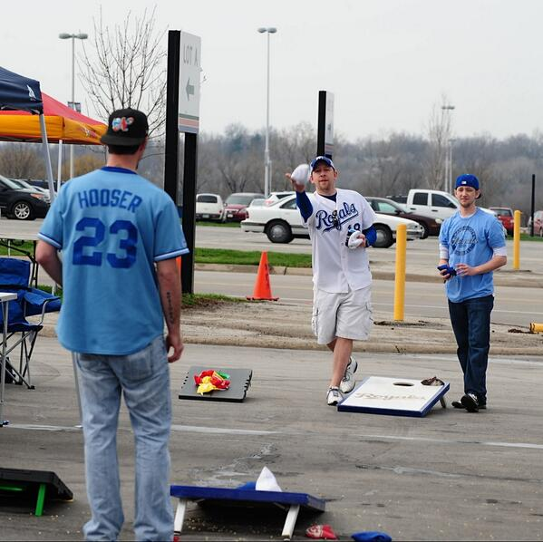 Thumbnail for Kauffman tailgate tradition kicks off first home game