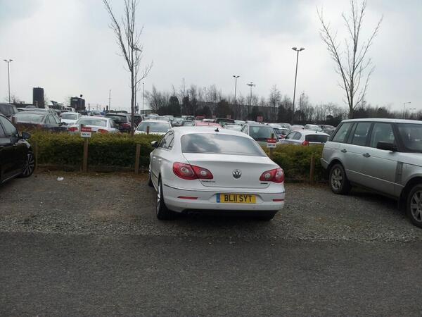 BL11 SYT is an Inconsiderate Parker