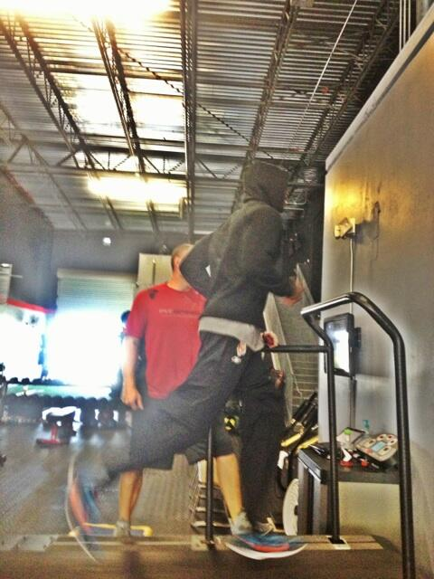 Twitter / ochocinco: Mondays workout at @fitspeedAP ...