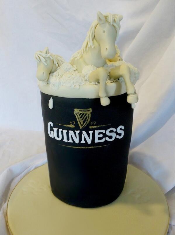 Cool Guinness Ireland On Twitter Brilliant Rt Cakesbycake 50Th Personalised Birthday Cards Veneteletsinfo