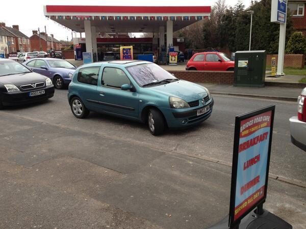 L7IFW displaying crap parking