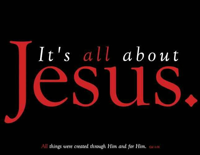 Twitter / msmariepr: It's All about JESUS!!! ...