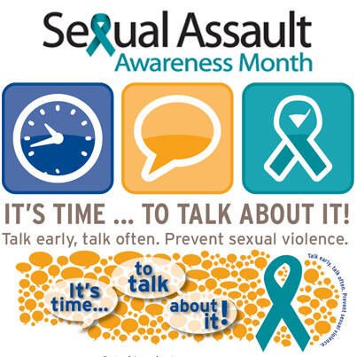 The month of April has been designated Sexual Assault Awareness Month (SAAM) in the US #SAAM bit.ly/fiXHD9 pic.twitter.com/eyvBNghTzN