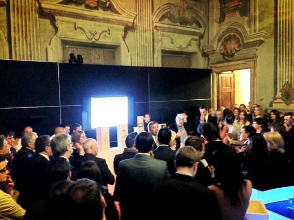 Il discorso del presidente - santa margherita @ViniSMargherita  #santamargherita #cheserata http://t.co/kI9SxJny2g
