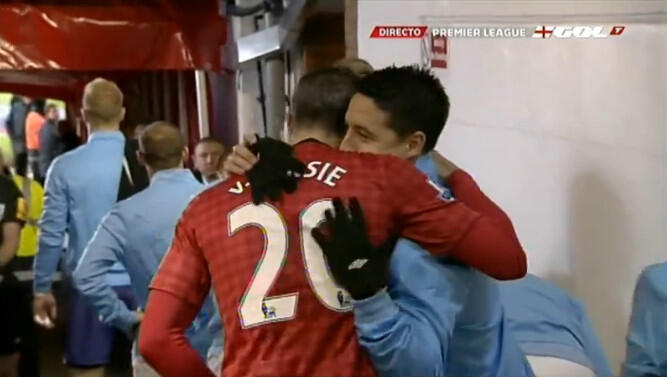 Aguerooooo! Super Sergio scores a stunner as Man City win 2 1 at United