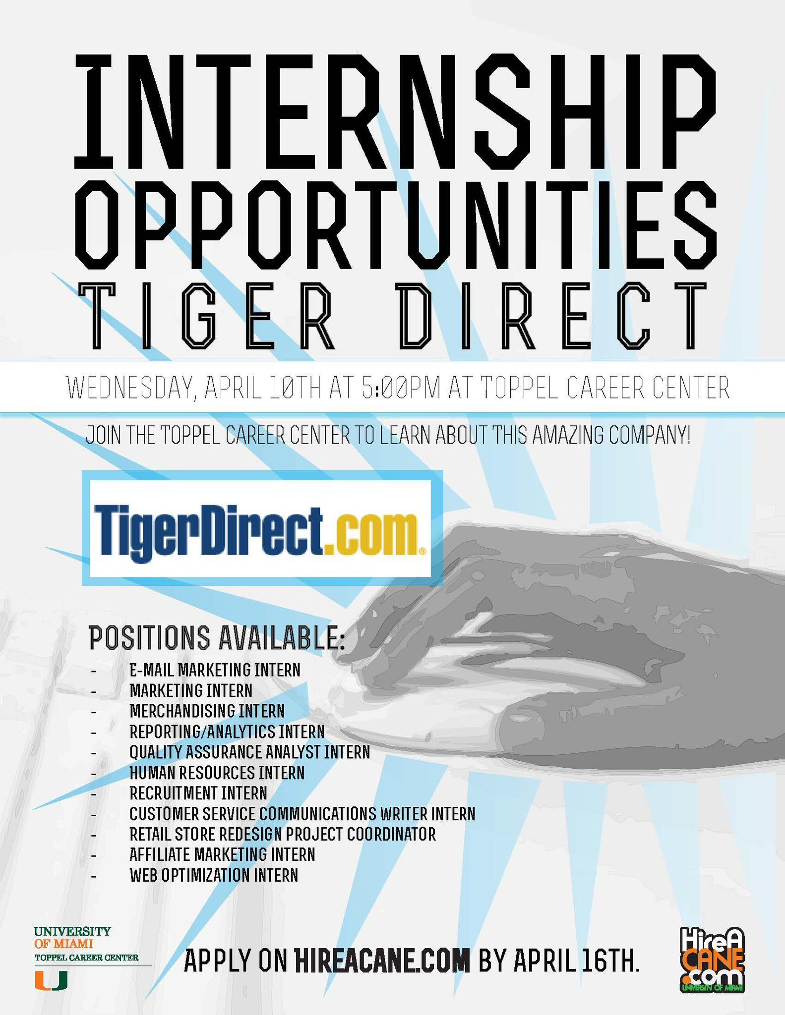 Twitter / Toppel: Looking for an internship? ...