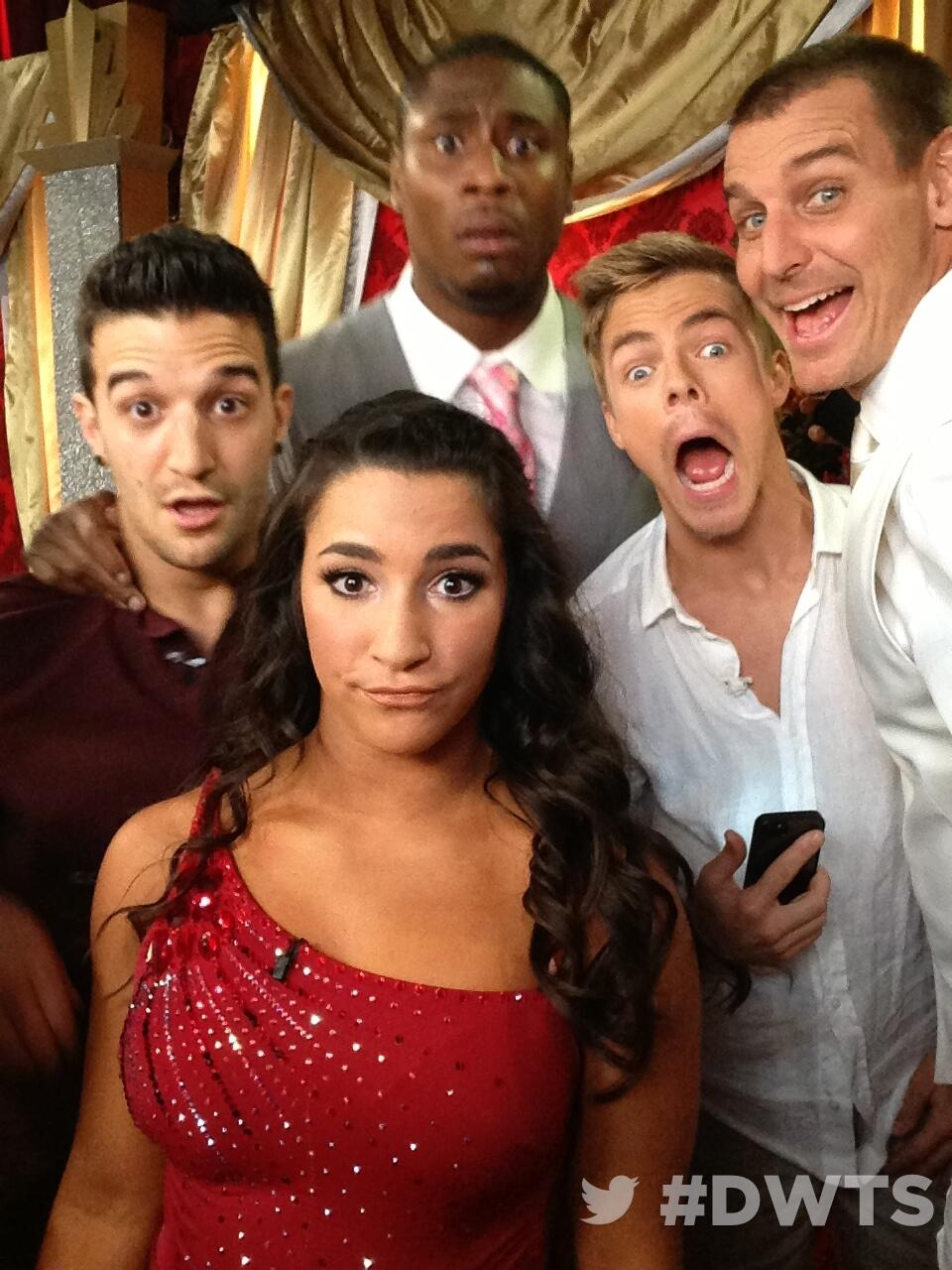 Twitter / DancingABC: Backstage at #DWTS ...