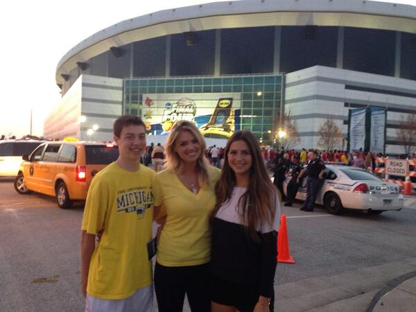 Kate Upton at Final Four