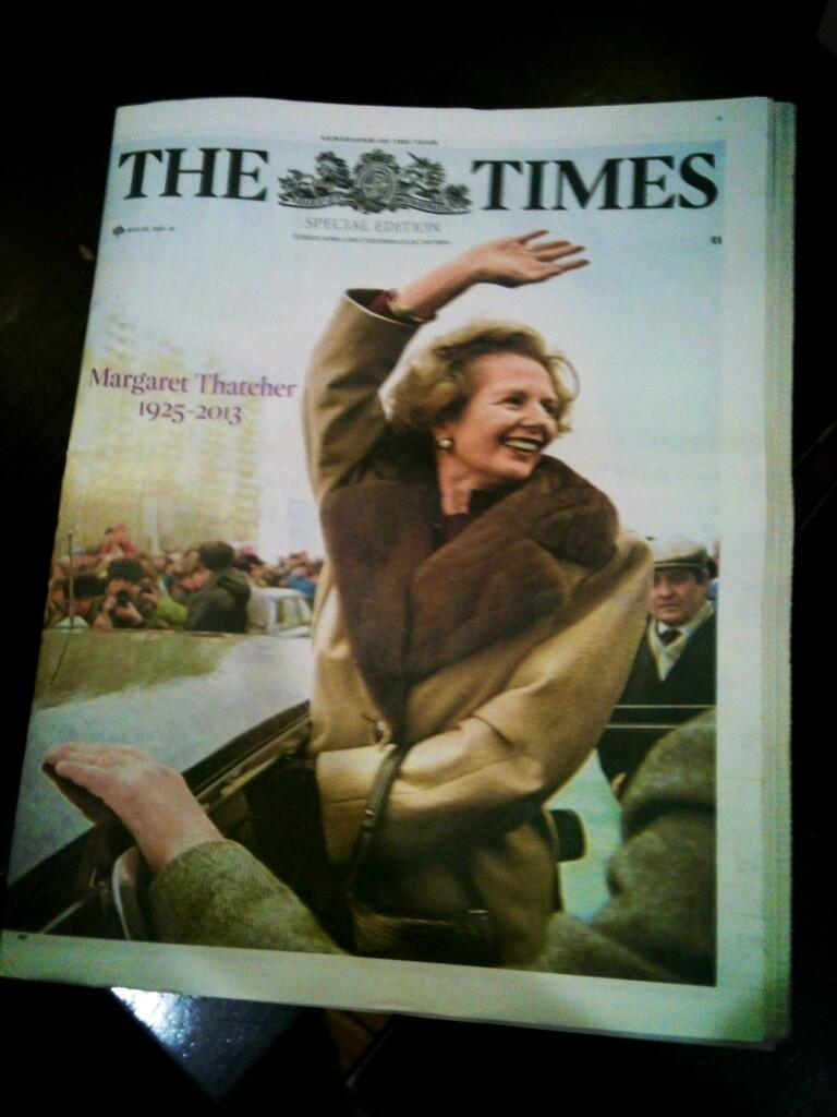 The Times special edition today