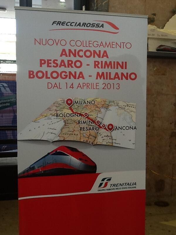 Thumbnail for #Frecciarossa Ancona-Rimini-Milano 09 Aprile 2013