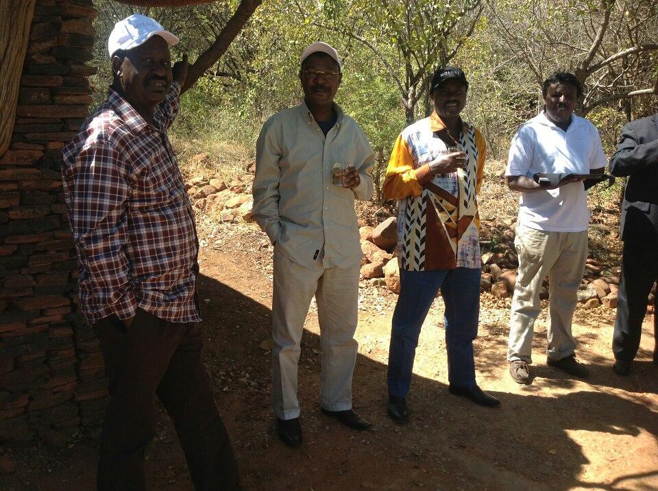 Twitter / CapitalFM_kenya: Meanwhile, in SA, Raila Odinga, ...
