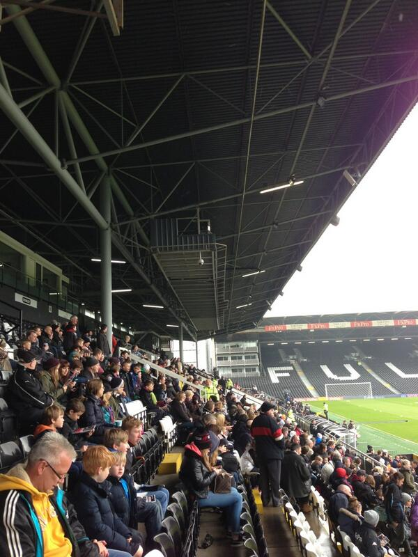 Great turnout at #ffc open training, given the weather #closer pic.twitter.com/gRjmzvlWCH