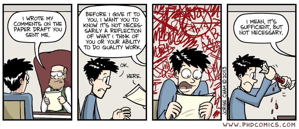 Writing a working thesis