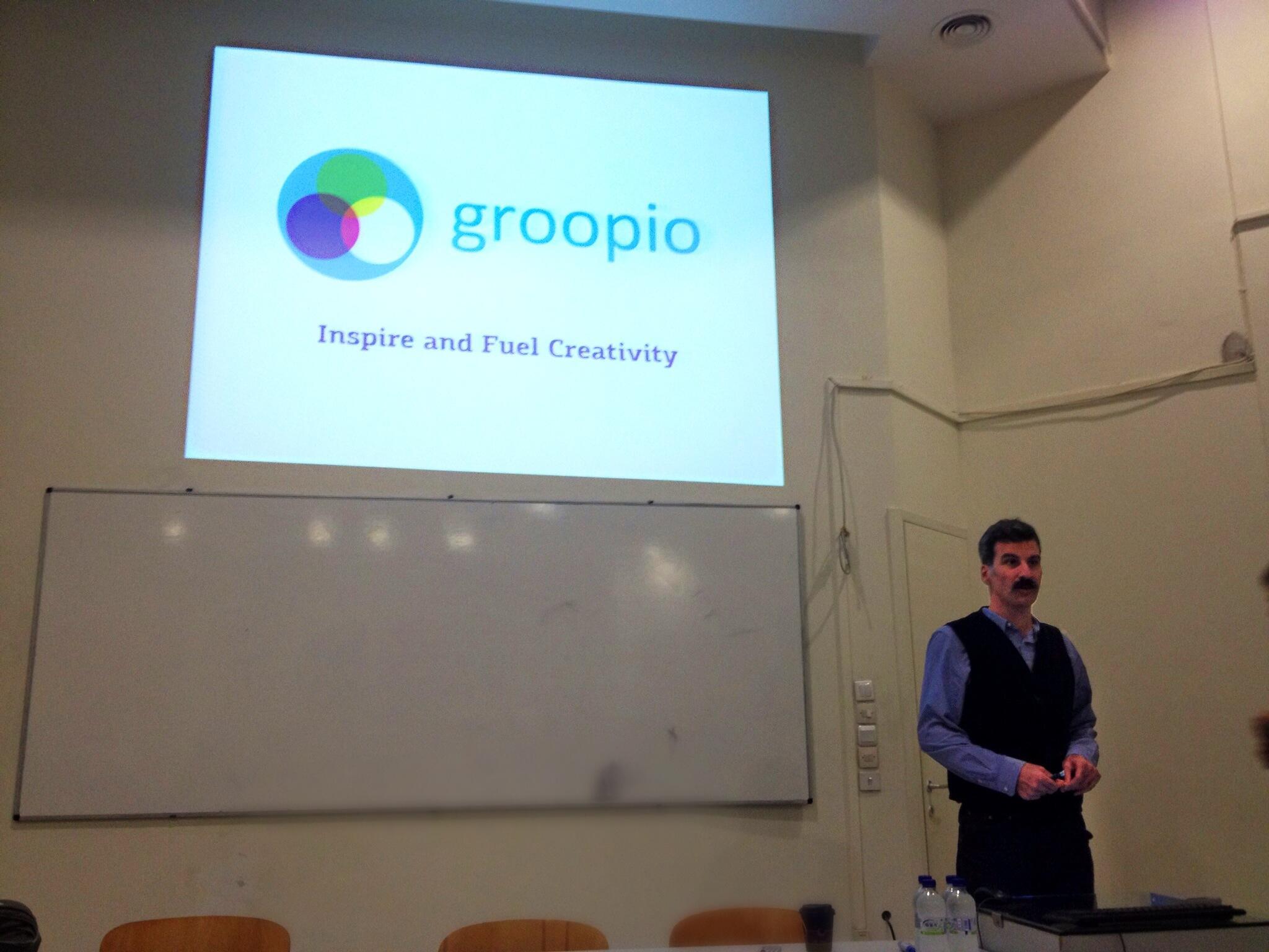 Παρουσίαση του groopio στο Βόλο