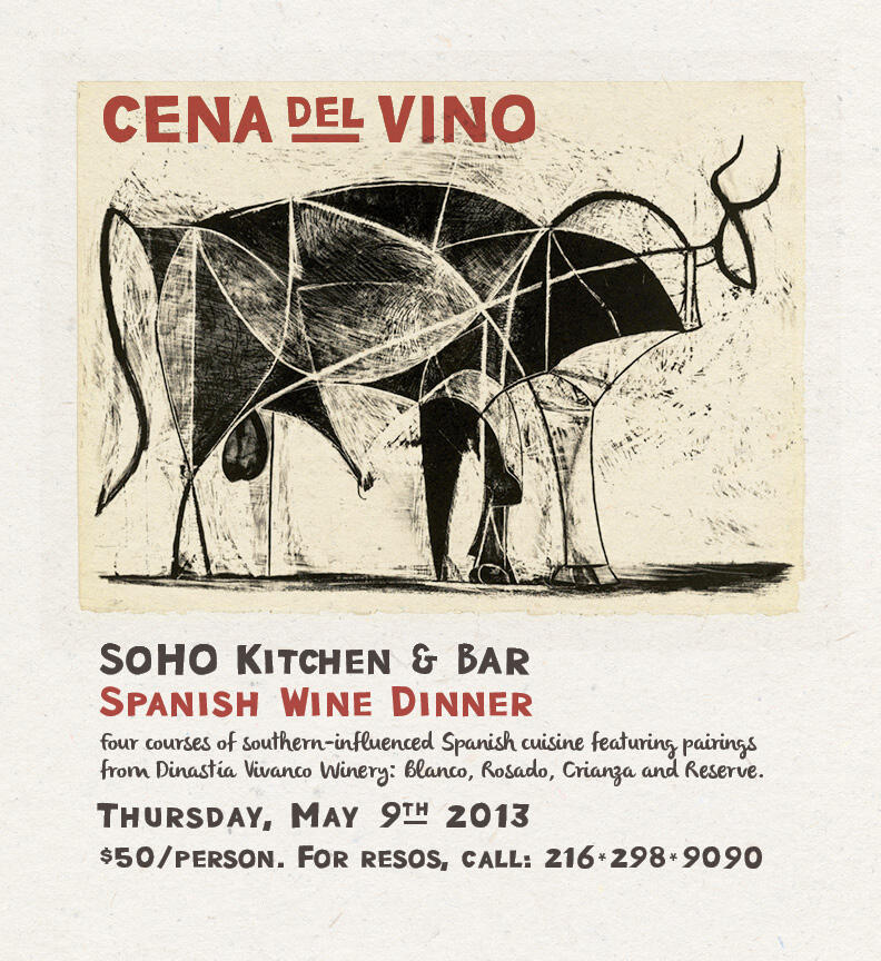 wine dinner, spanish, vayamos de fiesta, eat drink cleveland